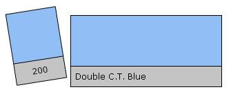 Lee Colour Filter 200 D.C.T. Blue