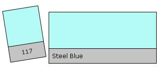 Lee Colour Filter 117 Steel Blue