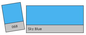 Lee Filter Roll 068 Sky Blue