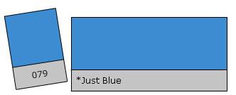 Lee Filter Roll 079 Just Blue