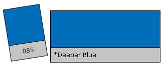 Lee Filter Roll 085 Deeper Blue