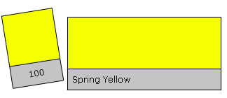 Lee Filter Roll 100 Spring Yellow