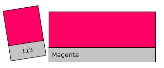 Lee Filter Roll 113 Magenta