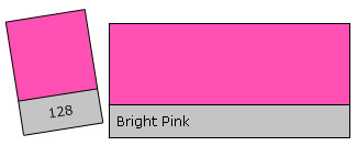 Lee Filter Roll 128 Bright Pink