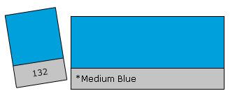 Lee Filter Roll 132 Medium Blue