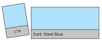 Lee Filter Roll 174 D. Steel Blue