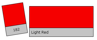 Lee Filter Roll 182 Light Red