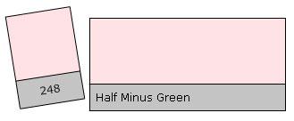 Lee Filter Roll 248 H. Minus Green