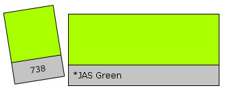 Lee Filter Roll 738 Jas Green