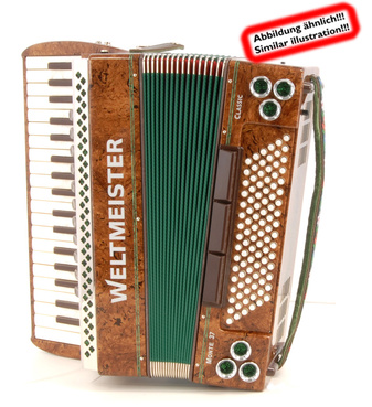Weltmeister Monte 41 Classic Helicon BW