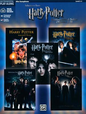 Alfred Music Publishing Harry Potter Alto Sax