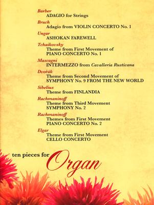 Kevin Mayhew 10 Pieces for Organ