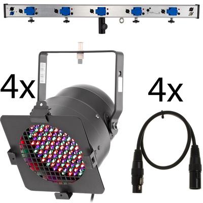 Stairville LED Lighting Kit PAR56 Black