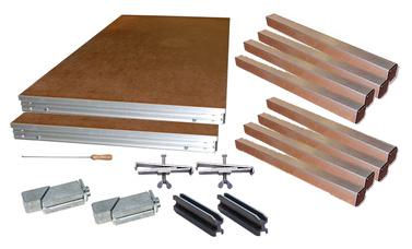Stageworx Drumriser 2,0 x 2,0m Bundle