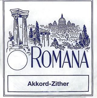 Romana Akkordzither Strings D4 Akkord