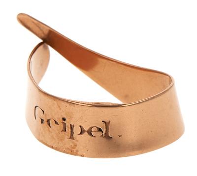 Geipel Thumb Pick Bronze 5