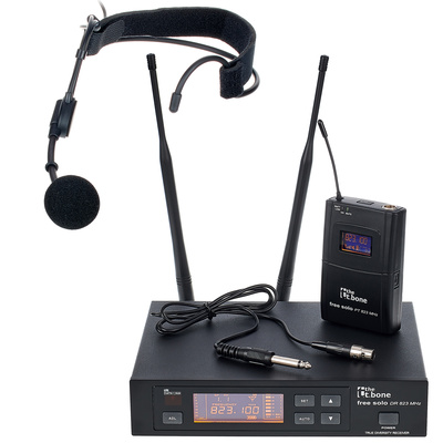 the t.bone free solo 823 Headset Bundle