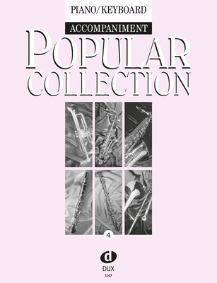 Edition Dux Popular Collection 4 Piano