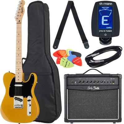 Fender SQ Affinity Tele MN BB Bundle1