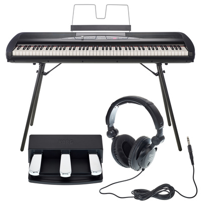 Korg SP-280 BK Bundle