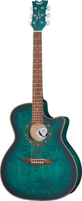 Dean Guitars Exotica Quilt Ash TBLS