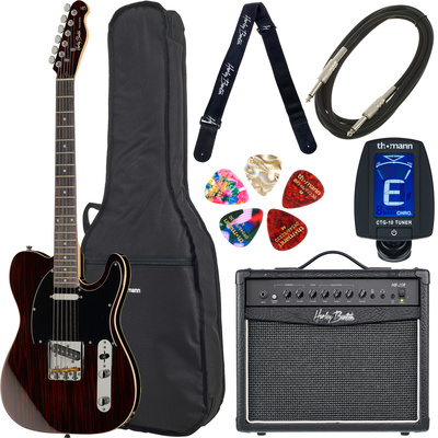 Harley Benton TE-70RW Deluxe Set 1