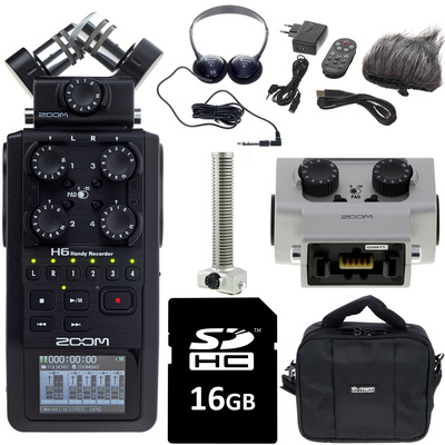 Zoom H6 Complete Bundle