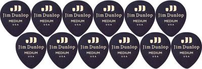 Dunlop Celluloid Teardrop Med. BK