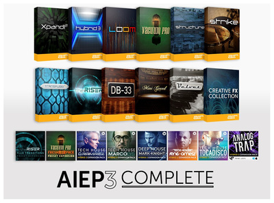 AIR Music Technology AIEP3 Complete