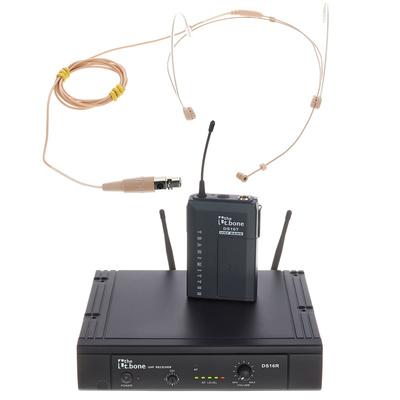 the t.bone TWS 16 HeadmiKeD 863 MHz Set