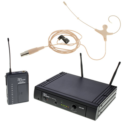the t.bone TWS 16 EarmiKeO 600 MHz Set