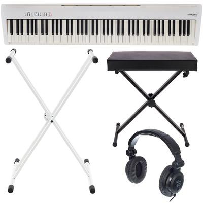 Piano Numerique Petit Piano Numerique Roland Fp 30 Wh Bundle Prix Test Et Avis Clavier Midi