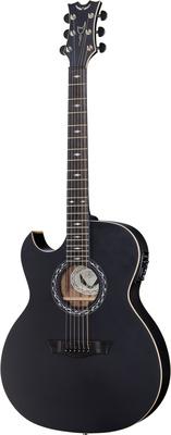 Dean Guitars Exhibition A/E BK Satin LH