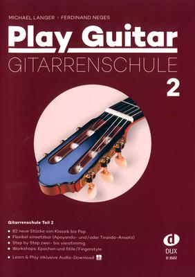 Edition Dux Play Guitar Gitarrenschule 2