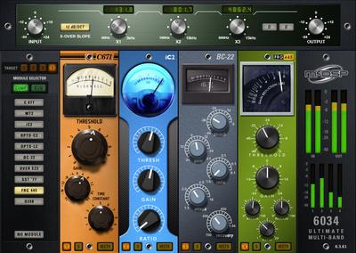 McDSP 6034 Ultimate Multi-band Nat.
