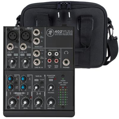 Mackie 402 VLZ4 Bag Bundle
