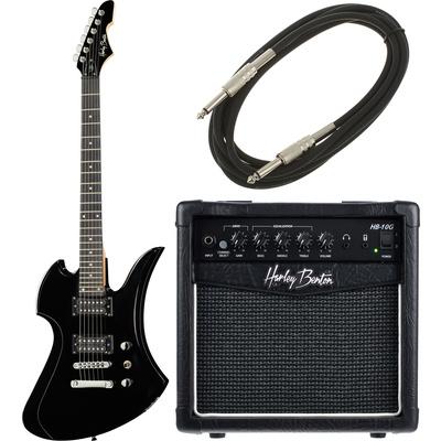 Harley Benton MB-20BK Rock Series Bundle