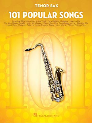 Hal Leonard 101 Popular Songs T-Sax