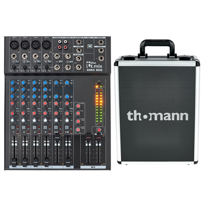 the t.mix xmix 802 USB Case Bundle