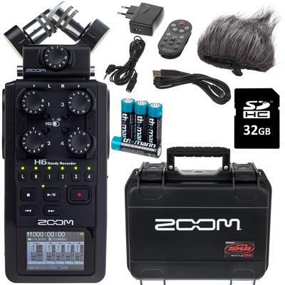 Zoom H6 SKB Bundle