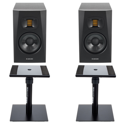 Adam T5V Desktop Stand Bundle