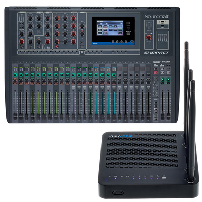 Soundcraft Si Impact Router Bundle