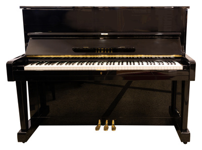 Yamaha U1E Piano used, Black Polished