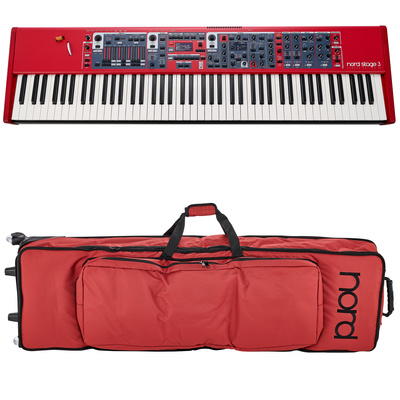 Clavia Nord Stage 3 88 Bag Bundle
