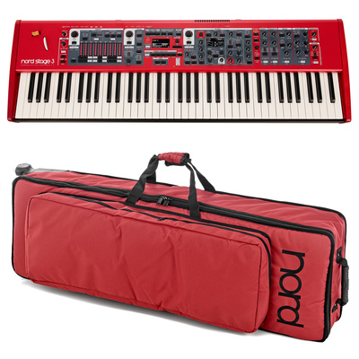 Clavia Nord Stage 3 HP76 Bag Bundle