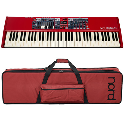 Clavia Nord Electro 6D 73 Bag Bundle