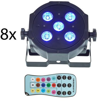 Fun Generation SePar Quad LED RGB UV Bundle