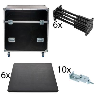 Stairville iX Stage 6x 1x1 20cm w. Case
