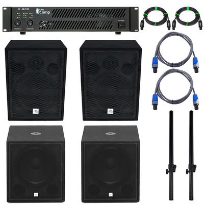 the box PA 18 ECO MKII Amp Bundle