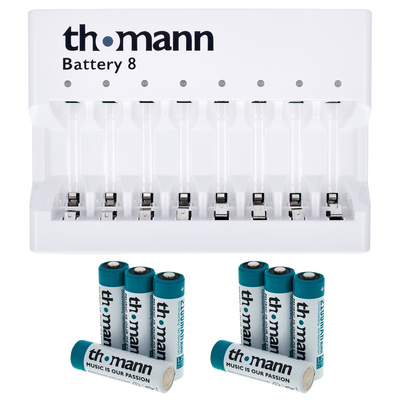 Thomann Battery 8 Set